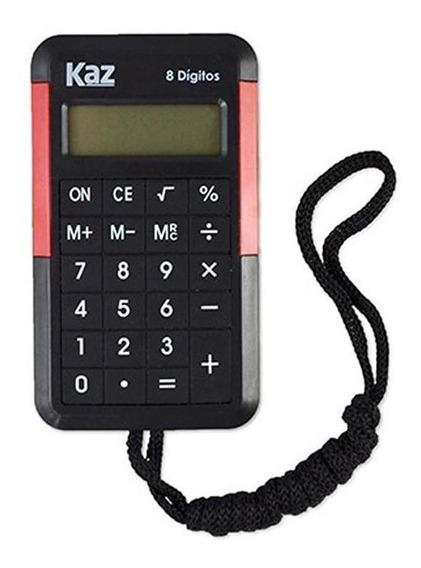 Calculadora Bolso Kaz Kz5004 Com Cordão