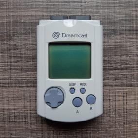 Vmu Original Japonês P/ Sega Dreamcast Ref 6345