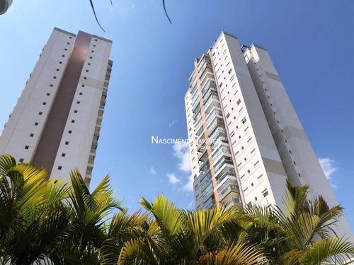 Apartamento Novo Com 2 Dormitórios À Venda, 69 M² Por R$ 633.000 - Jardim Belo Horizonte - Campinas/sp - Ap0772