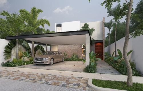 Imagen 1 de 15 de Casa En Venta, En Privada Ya'ax-beh Modelo B.
