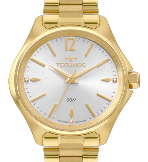 Relógio Technos Boutique Feminino Dourado 2035mrh/4k C/ Nf-e