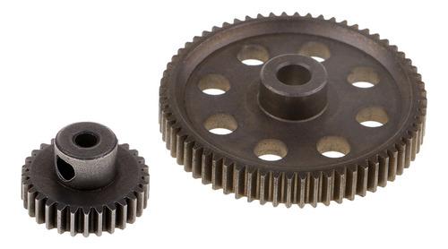 Imagen 1 de 4 de 11184 Metal Engranajes Piñón Para 1:10 Rc Hsp 94111 94123