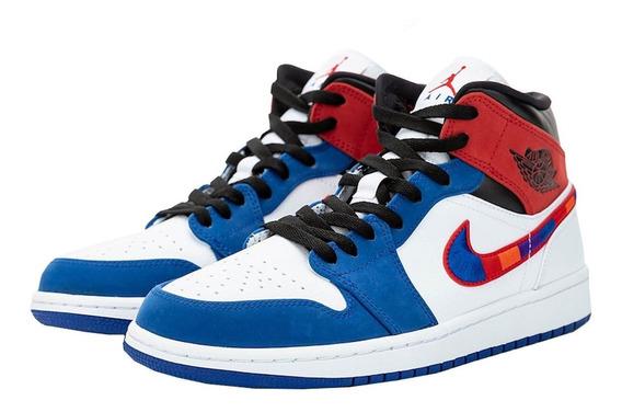 Sneakers Air Jordan 1 Mid Se University 852542 146 Original.