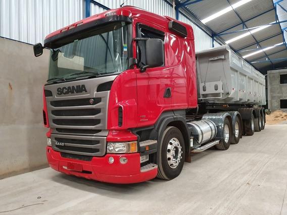 Scania 124 R440 6x4 Ano 2013 / 2013 Impecável Com Retarder