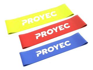 Bandas Elastica Circular Ancha Pack X3 Tiraband Proyec