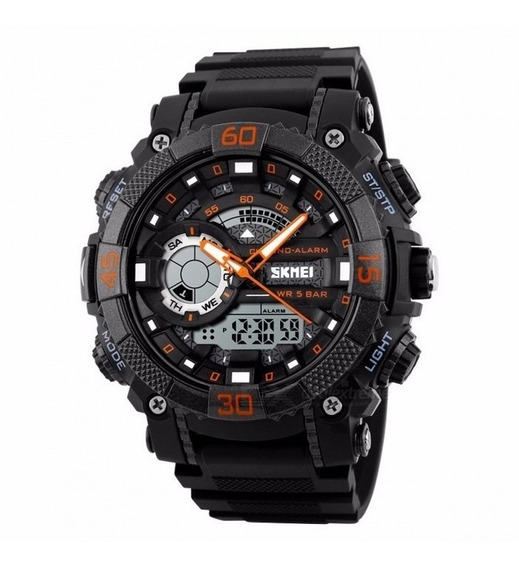 Relógio Masculino Original Skmei 1228 Sport A Prova D´água