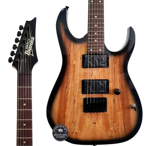 Guitarra Ibanez Grg 121 Ex Ngt Natural Gray Sunburst + Frete
