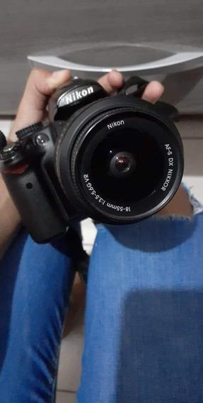 Nikon D5000 Com Lente 18-55mm