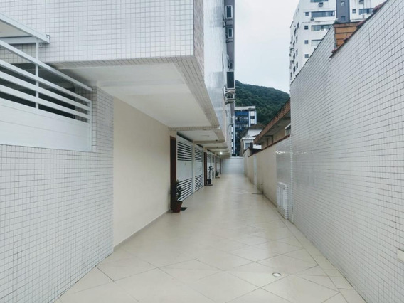 Conjunto Em Marapé, Santos/sp De 100m² 2 Quartos Para Locação R$ 2.500,00/mes - Cj400318