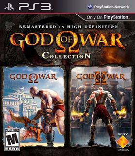 God Of War Colection 1 & 2 Ps3 Fisico Sellado Ade