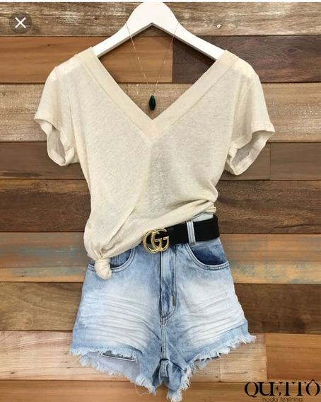 Blusa Podrinha Cores Moda Blogueira