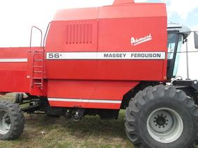 Cosechadora Massey Ferguson 5650 Advanced. Impecable .