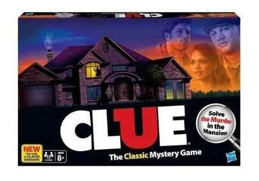 Juego De Mesa Clue Refresh: El Clásico Juego Del Misterio