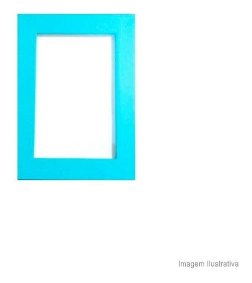 Porta Retrato 10x15cm Life Azul Turquesa Infinity Infinity