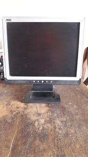 Monitor Aoc Tft 1560 Funciona Bien!!!