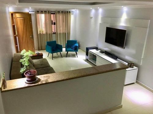 Sobrado Com 3 Dormitórios À Venda, 180 M² Por R$ 837.000 - Sítio Da Figueira - São Paulo/sp - 13545