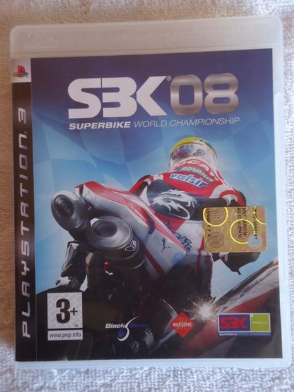 Sbk 08 Superbike Ps3 ** Frete Gratis Leia