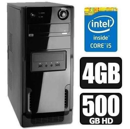 Cpu Pc Gamer Intel Core I5 3ªg+4gb+hd 500gb+wifi!