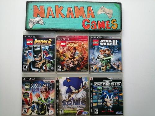 Juegos Para Playstation 3 Físicos Usado