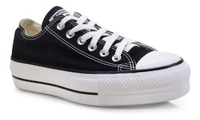 Tênis Converse All-star Plataforma Ox Preto Ct04950001