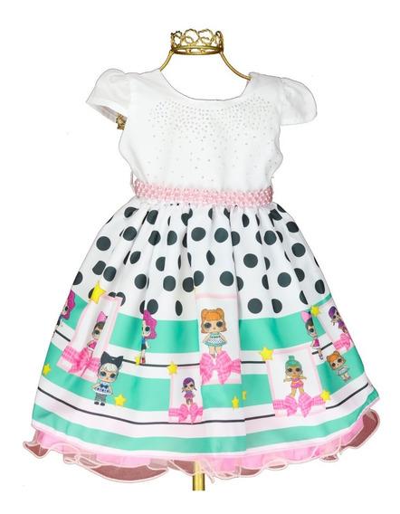 Vestido Infantil Lol Surprise Infantil Temático Promoção 1/4
