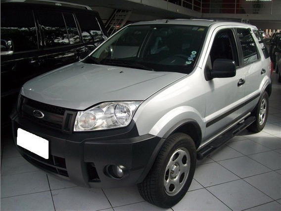 Ford Ecosport 1.6 Xls Prata 8v Flex 4p Manual 2009