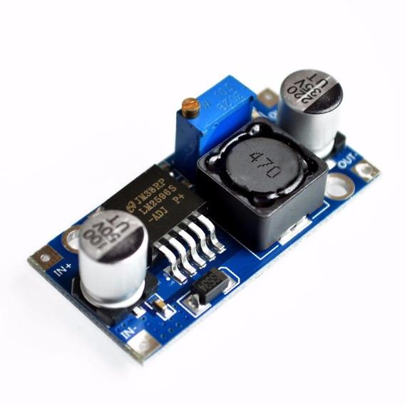 Conversor Tensão 3a Step-down Lm2596 Arduino Pic Raspberry