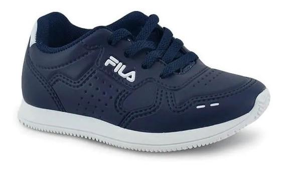 Zapatillas Fila Lifestyle Niñoinf Classic 92 Azul Marino Ras