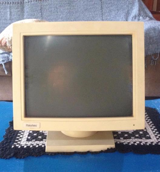 Monitor Mono, Itautec - 80119sva - 58-534667