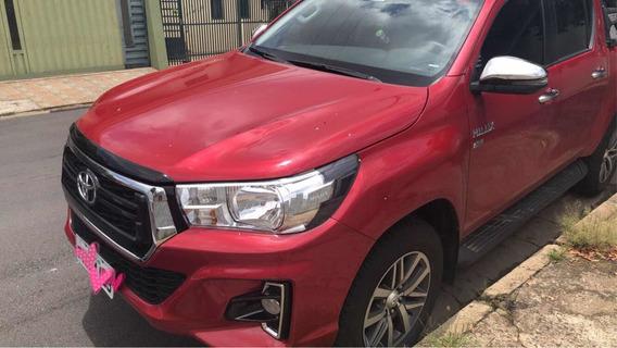 Toyota Hilux 2.7 Srv Cab. Dupla 4x2 Flex Aut. 4p 2019
