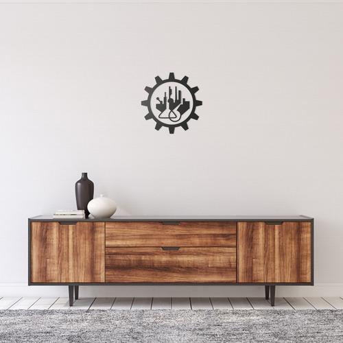 Quadro Decorativo Parede Profissão Engenharia Quimica 60cm