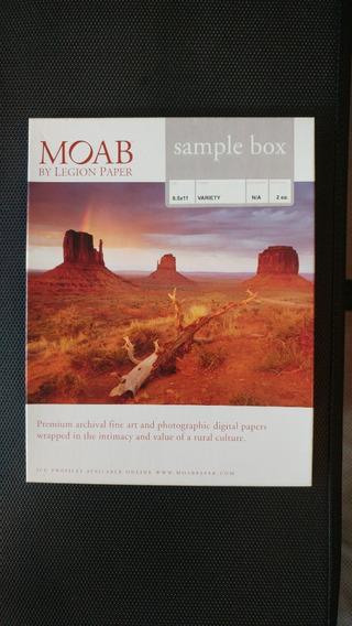 Moab Legion Paper 8x11 - 24 Folhas