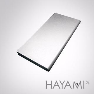 Power Bank 10.000 Mah Cargador Slim Aluminio Hayami