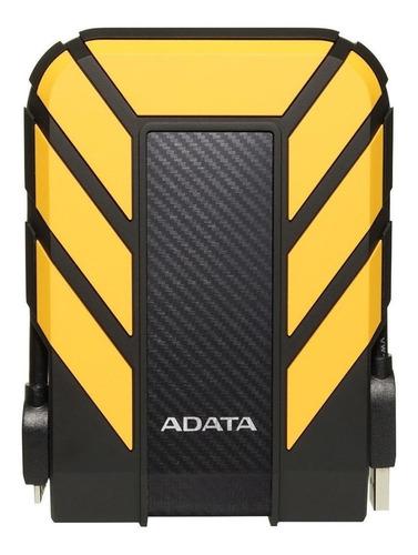 Imagen 1 de 3 de Disco duro externo Adata HD710 Pro AHD710P-2TU31 2TB amarillo
