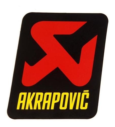 Sticker Akrapovic P-hst13al Original Alta Temperatura