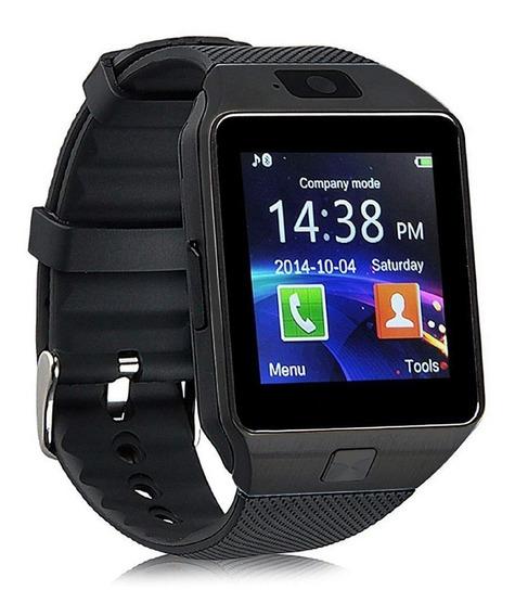 Reloj Smart Watch Dz09 Negro Camara Multimedia