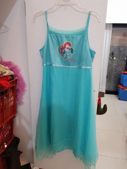 Hermoso Vestido Ariel Disney Store T6