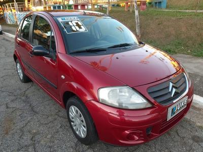 C3 Glx 1.4 - 2010 - Completo - Vermelha