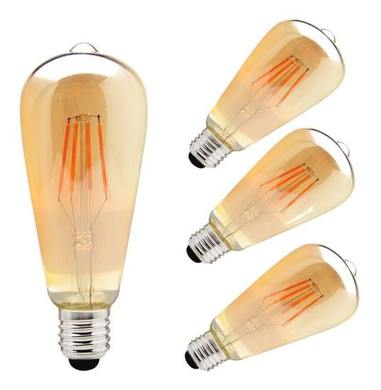 Bombillo Vintage Led Edison 20 Unid Lámparas Venezuela