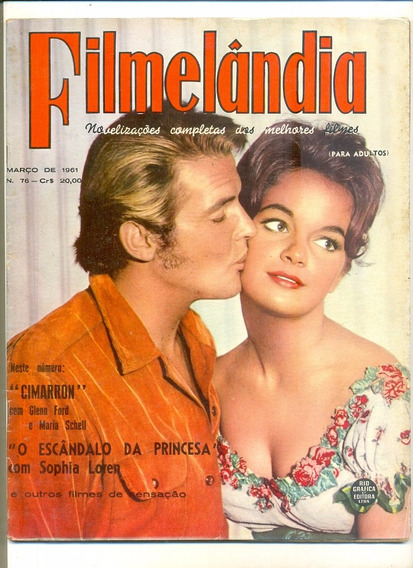 *sll* Revista Filmelândia N. 76 - Ano.1961