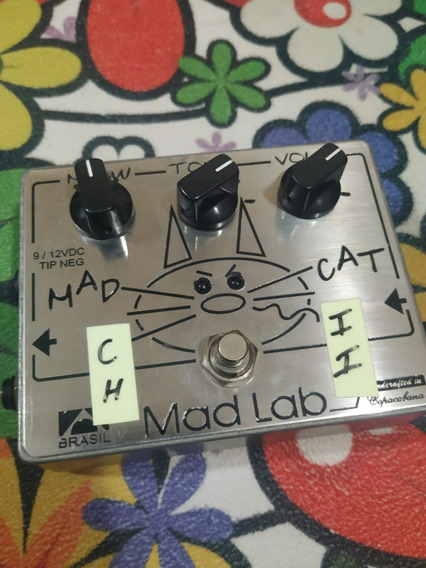 Pedal De Overdrive Madlab Madcat