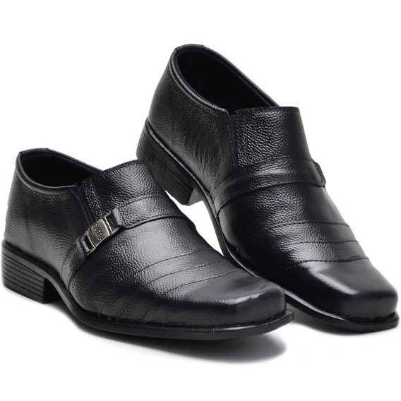 Sapato Masculino Social Em Couro De Amarrar Garra Promoção