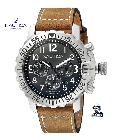 Reloj Nautica Nms 01 Nad18506g En Stock Original Nuevo