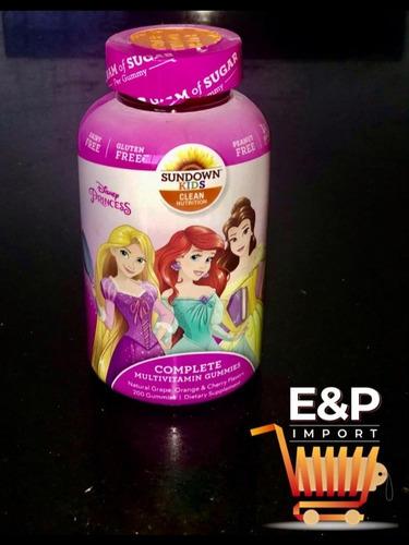 Vitaminas Para Niña De Disney
