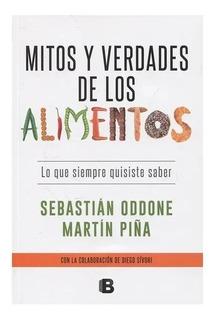 Libro Mitos Y Verdades De Los Alimentos Oddone / Piña Nuevos