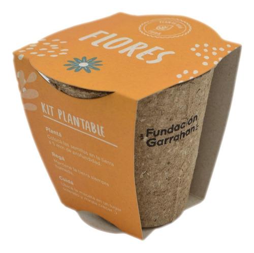 Imagen 1 de 4 de Eco Kit De Siembra - Flores - Fundación Garrahan