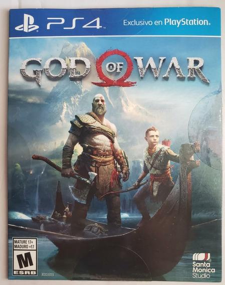 God Of War Ps4 100% Português Midia Física -frete Grátis