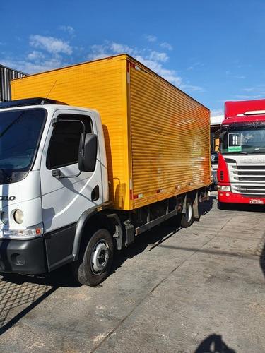 Mb 815 Accelo 2016 Acello 3/4 Baú E Plataforma Caminhão