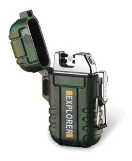 Encendedor Plasma Electrónico Usb 2arco Zippo Explorer