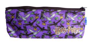 Cartuchera Triangular De Harry Potter Lechuzas